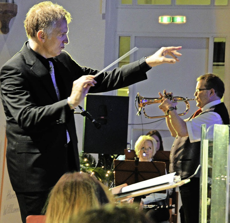 Die Entertainement Gala der Stadtmusik begeisterte die Besucher  | Foto: Sylvia-Karina Jahn