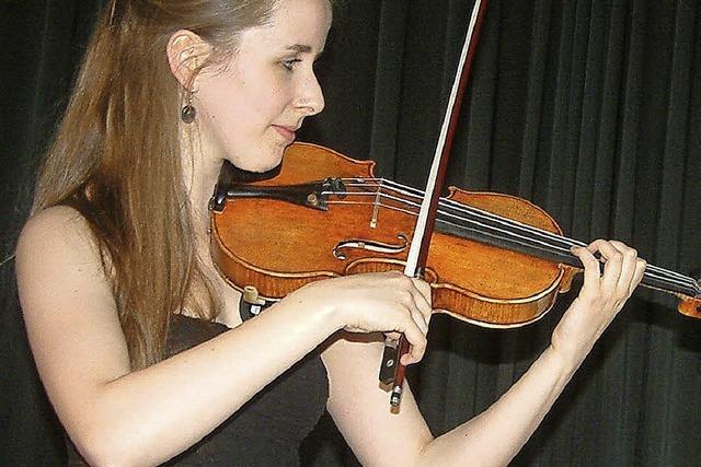 Wenn die Geige ein Lied ohne Worte singt