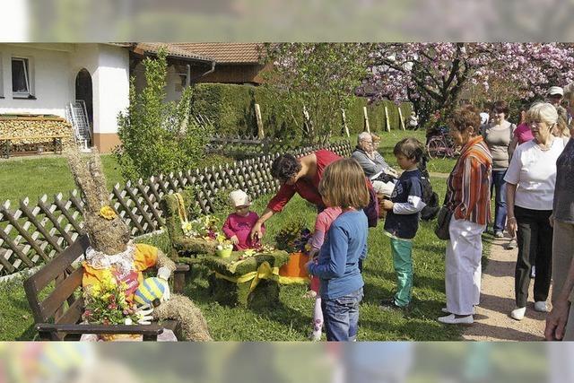 Das Osterdorf war ein Festtag der Superlative