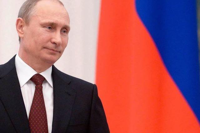 Putin ruft zur Deeskalation und bestreitet Einmischung