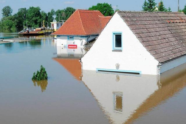 Potenzielles Hochwasser stoppt reale Baupläne