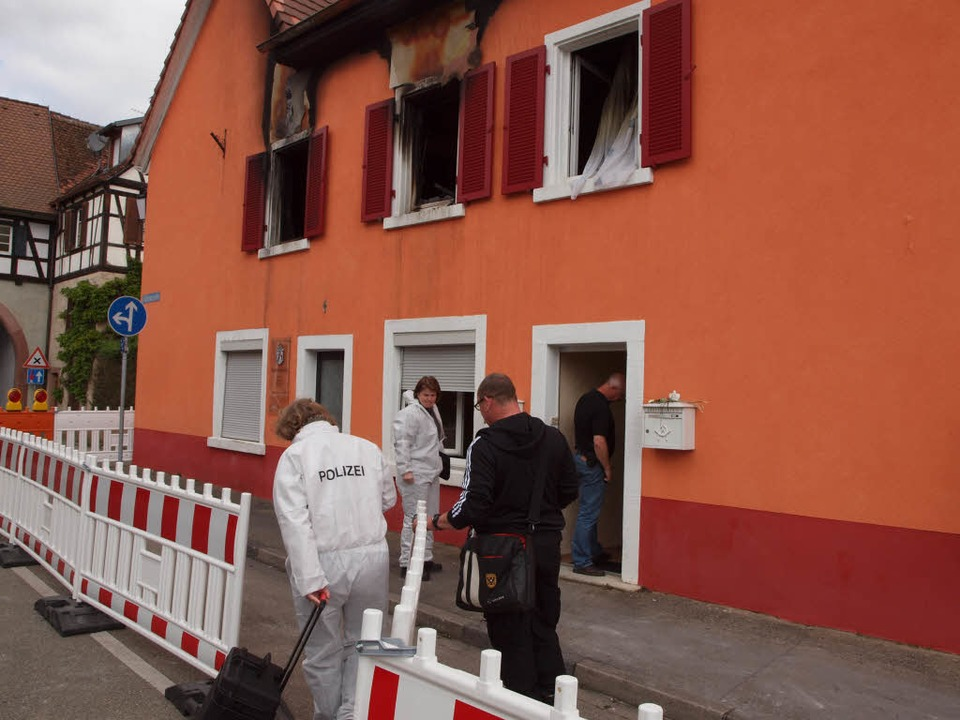 Der Tatort in Kenzingen  | Foto: Michael Haberer