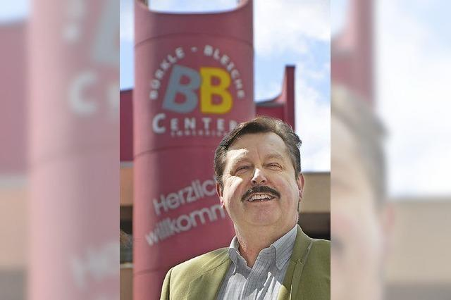 Karl-Heinz Hehl ist Vorsitzender im BB-Center