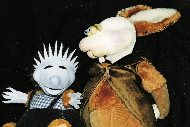 """Figurentheater auf dem Mundenhof: """"Der Hase und der Igel"""""""