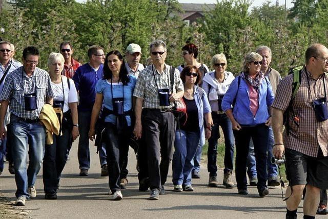 400 Wanderer auf Genusstour