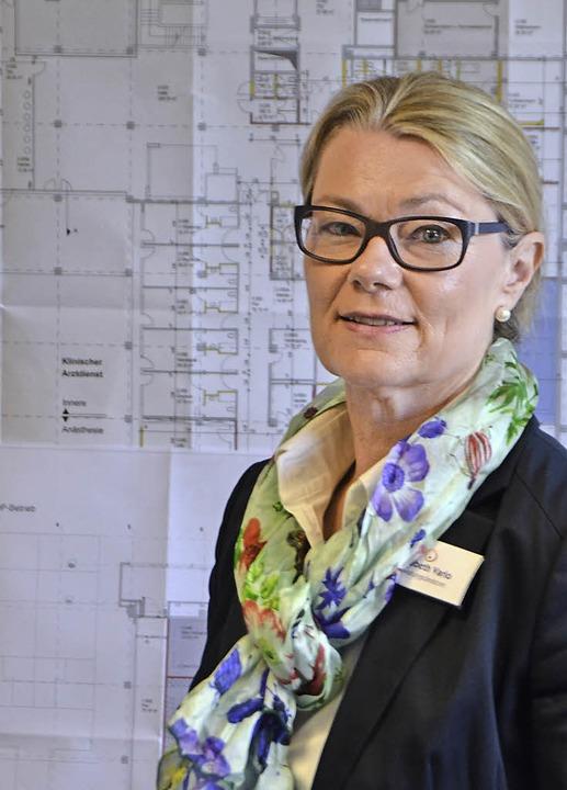 Elisabeth Vario ist neue Verwaltungsdirektorin im Kreiskrankenhaus.   | Foto: Marius Alexander