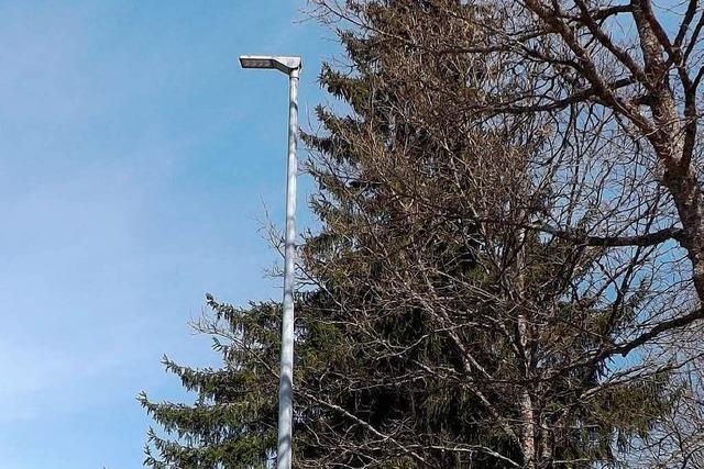 Straßenlaternen in Rickenbach sind nicht geerdet