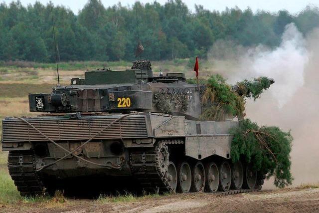Karlsruhe verhandelt über Richtlinien für Rüstungsexporte