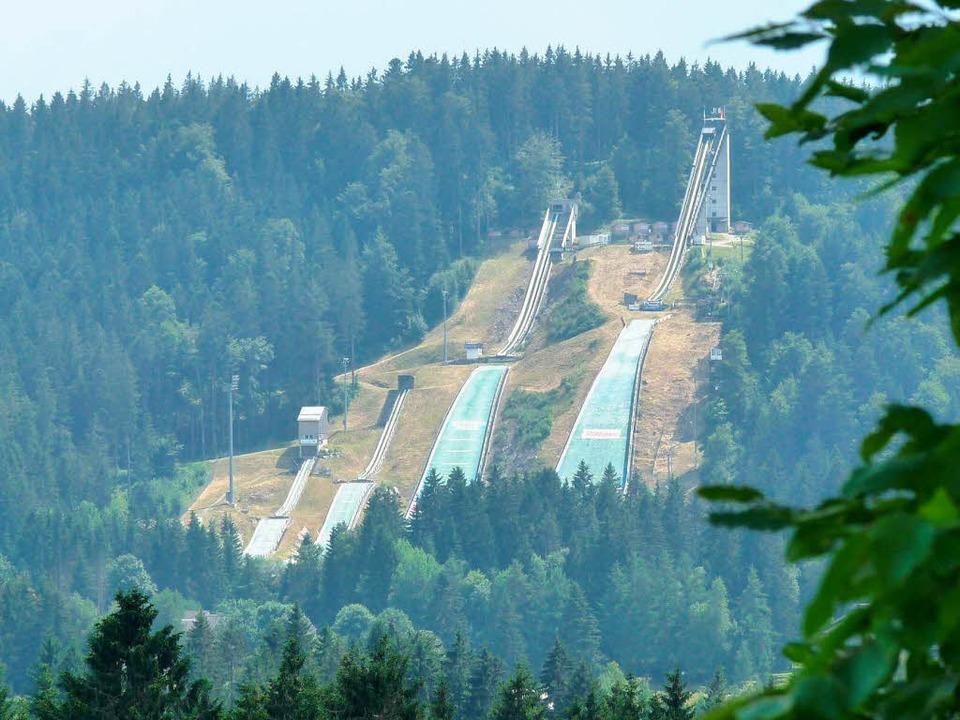 Ungenutztes Skisprungparadies: Erstmal...hanze in Klingenthal den Vorzug gibt.   | Foto: johannes bachmann