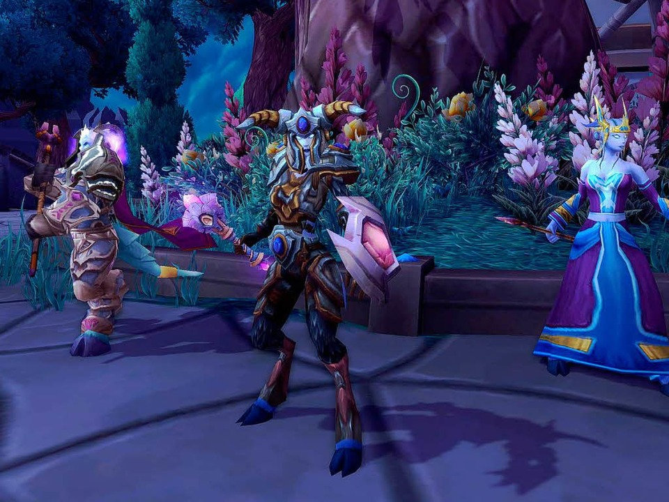 "Schöne Welt im Internet: Szene aus ""World of Warcraft""  