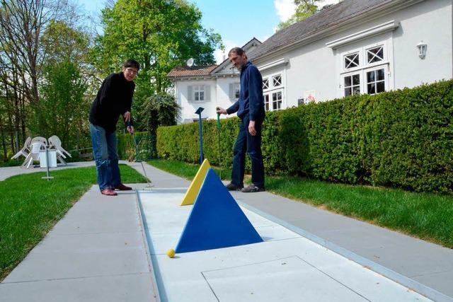 Die Minigolfanlage im Lahrer Friedrich-Maurer-Park ist saniert worden
