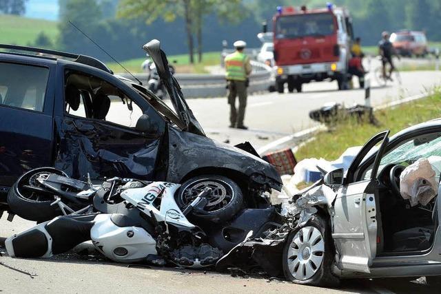 Doppelt so viele tote Motorradfahrer wie im Vorjahr