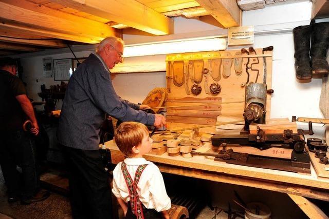 Historische Ölmühle und Trachten waren Hauptaufgaben