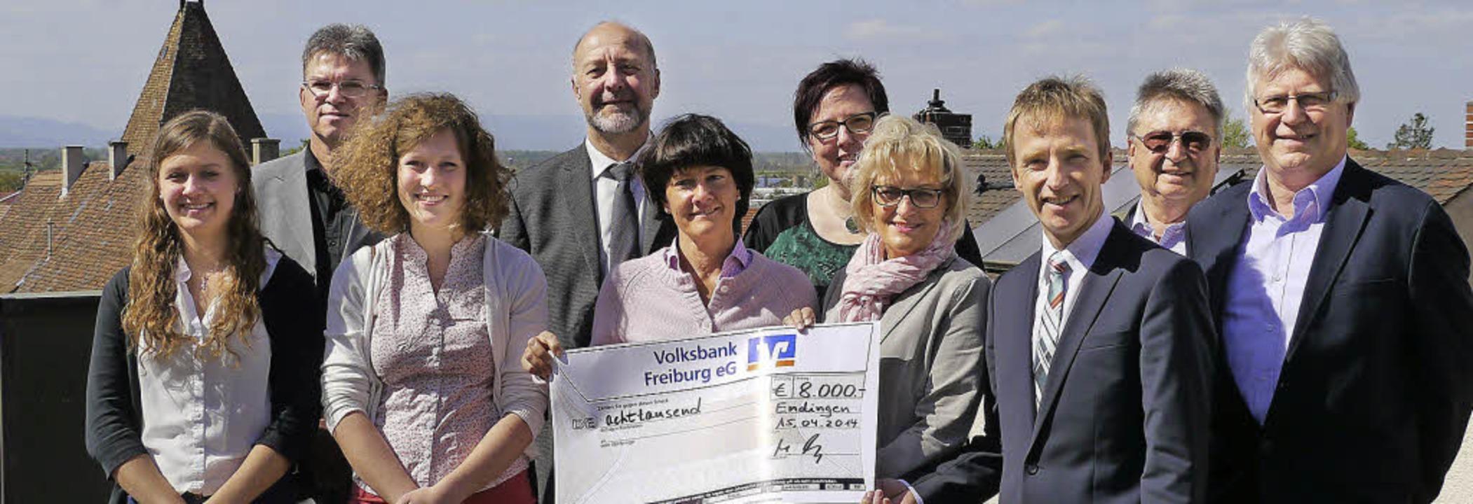 Mit 8000 Euro unterstützt die Volksban...nitiativen am nördlichen Kaiserstuhl.   | Foto: Christel Hülter-Hassler