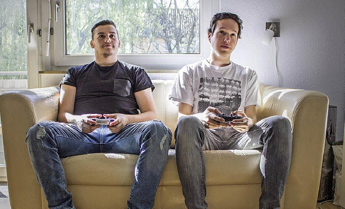 Eishockey auf der Playstation  | Foto: privat