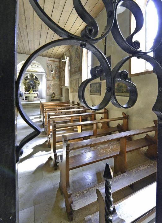Am Ziel angekommen: die Ottilienkapelle  | Foto: Michael Bamberger