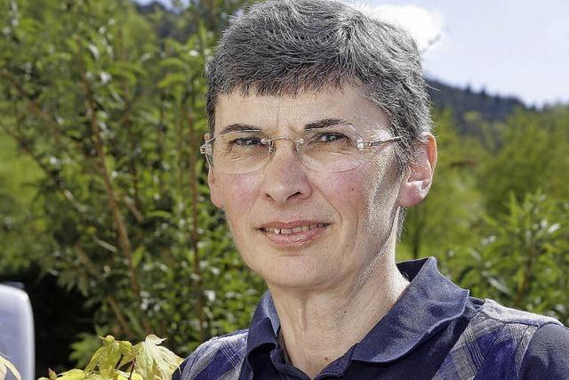 Französin mit Zertifikat zur Wanderführerin