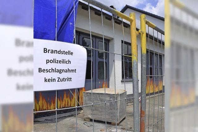 Das Feuerwehrgerätehaus wird saniert