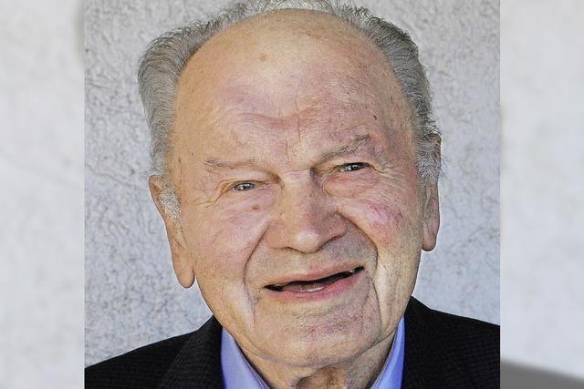 Fritz Schweigler hat das Gesicht Binzens entscheidend geändert
