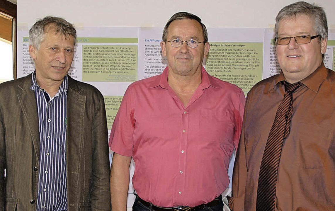 Dekanatsreferent Bernhard Huber (von l...nn, Merdinger Mitglied im Dekanatsrat.  | Foto: Manfred Frietsch