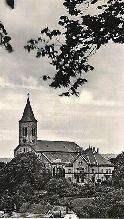 Die Katholische Kirche St. Peter und P...FotoNurRepro>Schulze</BZ-FotoNurRepro>  | Foto: Uli Schulze