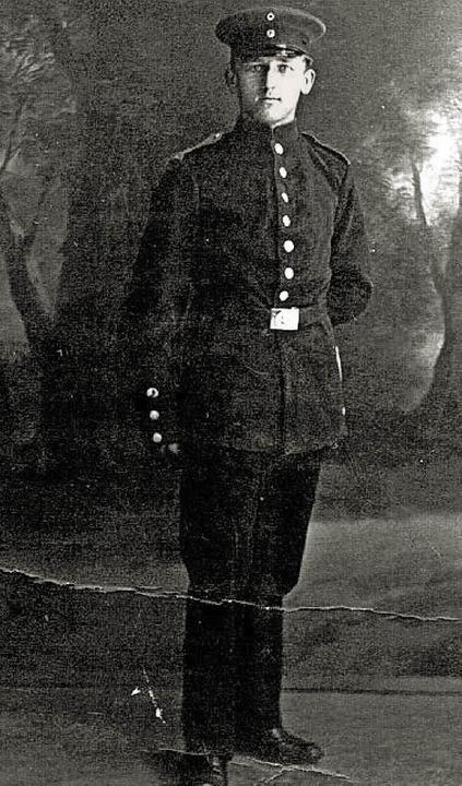 Karl Haller war der erste Denzlinger S...r, dies war nordwestlich von Mulhouse.  | Foto: Privat