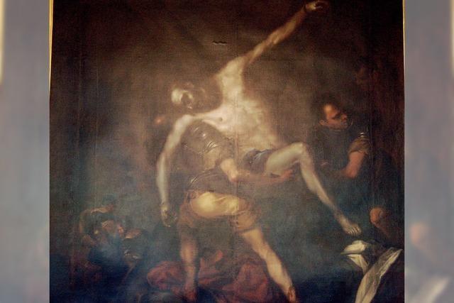 Eine Kreuzabnahme ohne Kreuz