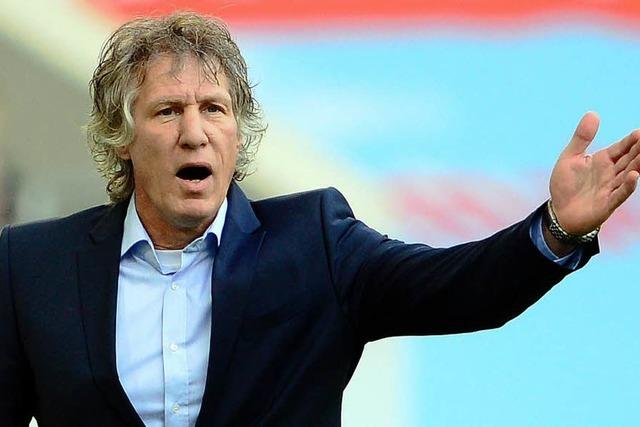 Geldstrafe für Nürnbergtrainer Verbeek