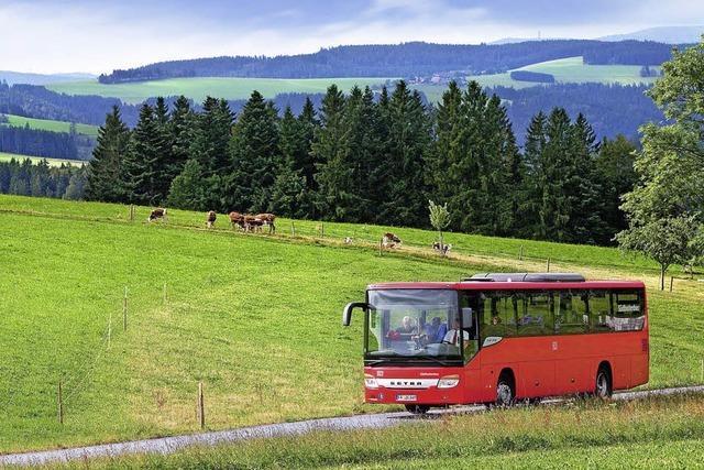 Wanderbus Wutachschlucht: Bus bringt Wanderer zum Start