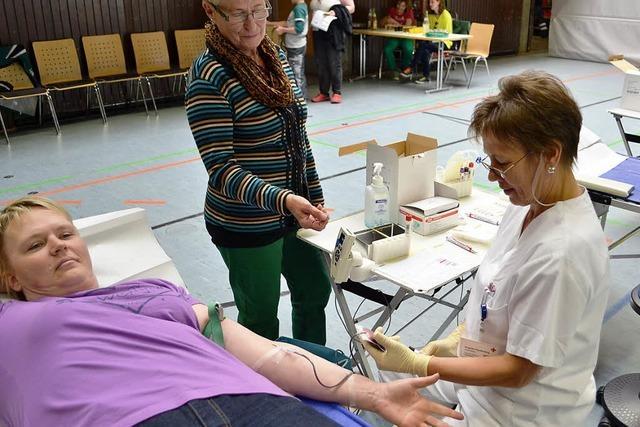 Chipkarte für Blutspender