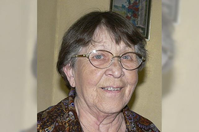 Gisela Thalmann wird 90: Den Traumberuf erreicht