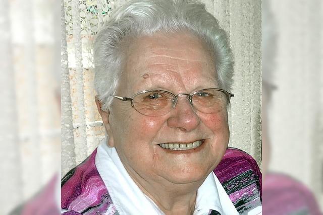 Else Böcherer wurde 85 Jahre