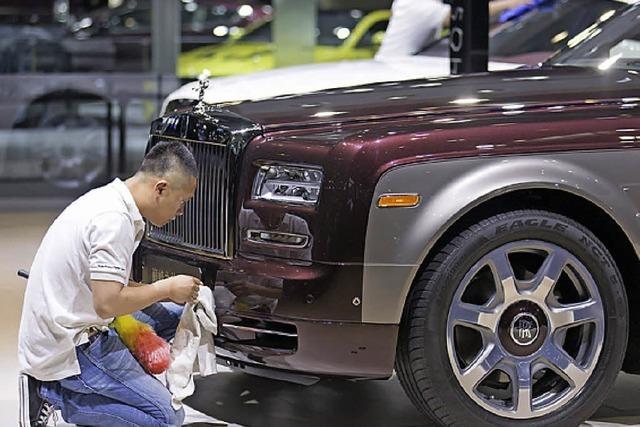 Auto-Absatz in China wächst