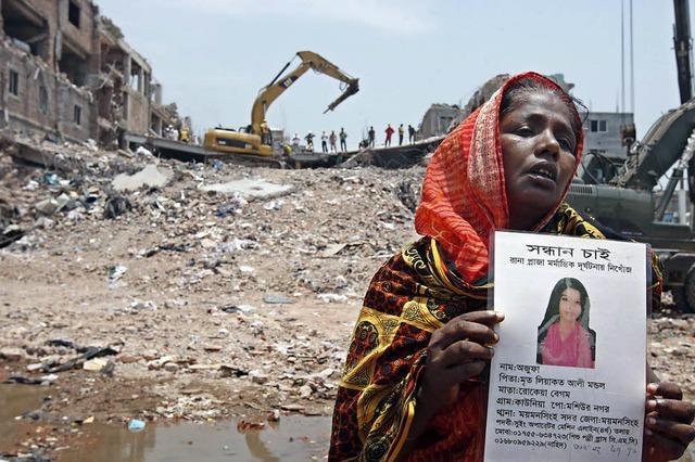 Katastrophale Zustände in vielen Textilfabriken