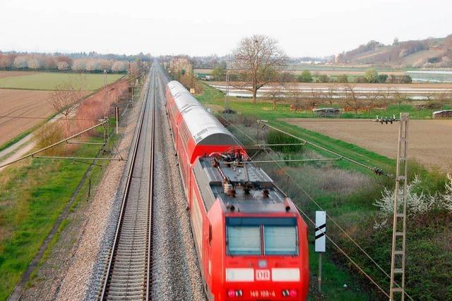 Unfall auf Rheintallinie: Strecke wieder frei