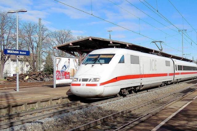 Teile der Rheintalbahn fünf Monate lang gesperrt