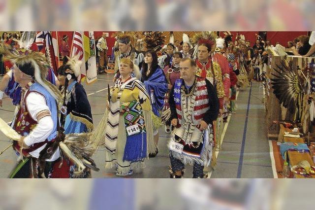 Indianer-Treffen in Unterkirnach
