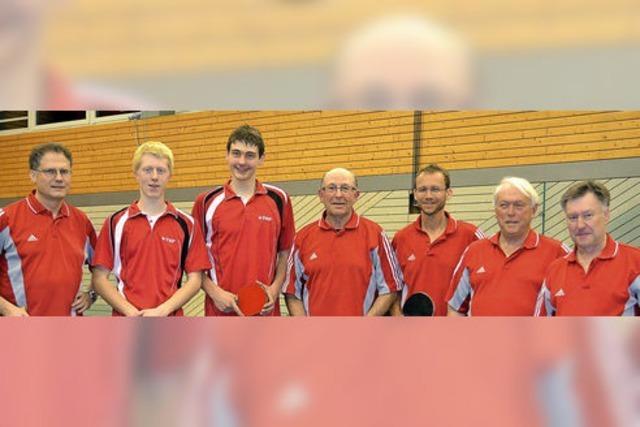 Meistertitel für Kenzinger Tischtennis-Team
