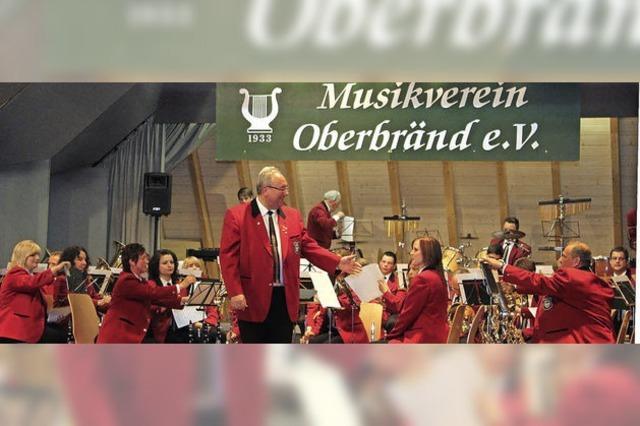 Doppelte Ostermusik in Oberbränd