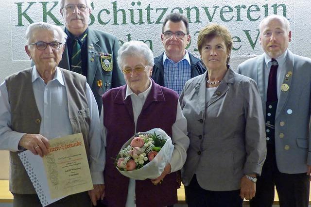 DSB-Ehrennadel in Gold für 75 Jahre Vereinstreue