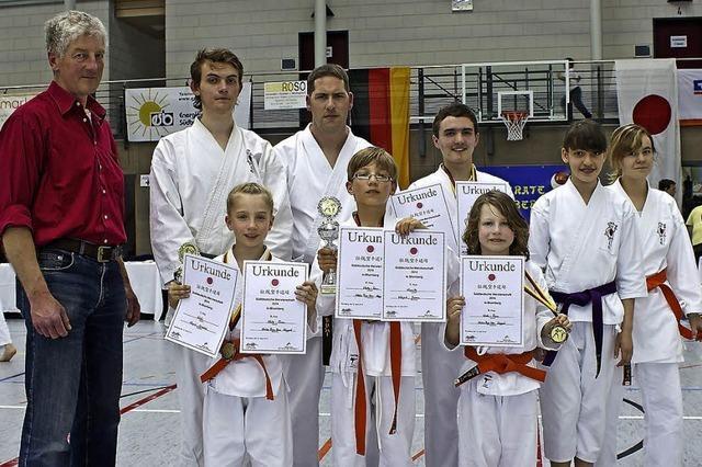 Drei süddeutsche Meistertitel für Karatekas aus Kappel