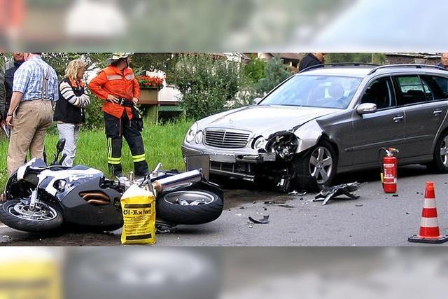 Abwärtstrend bei Verkehrsunfällen