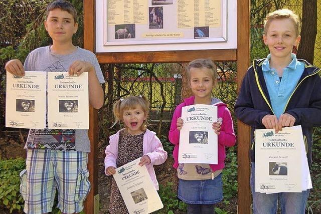 Tierisch tolle Preise beim Tierpatenwettbewerb
