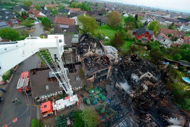 Großbrand in Altenheim:
