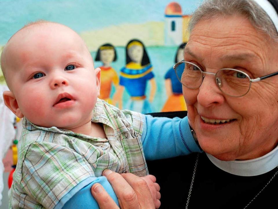 Hat das Kindeswohl im Blick: Schwester Frumentia Maier.   | Foto: Archivfoto: Gertrude Siefke
