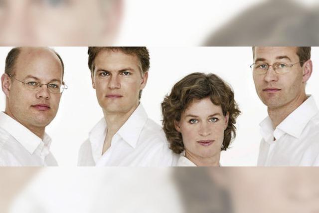 Mandelring-Quartett bei den Schlosskonzerten: Die Pfalz im Schwarzwald