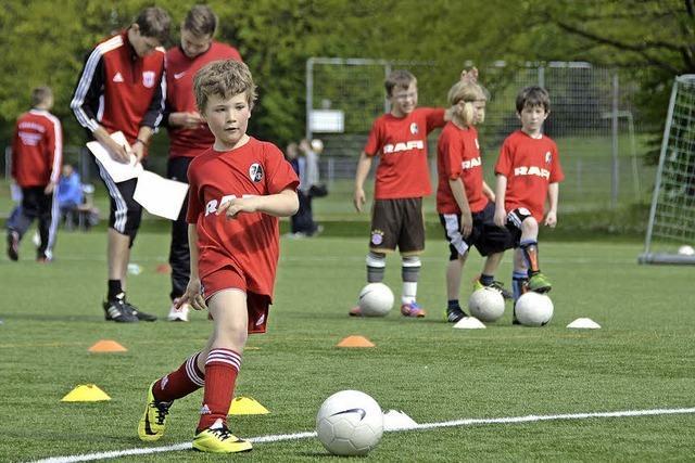 Lörracher Fußball-Füchsle für den SC Freiburg