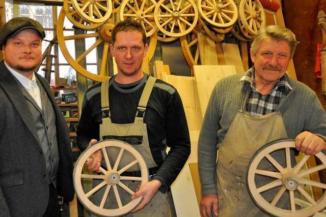 Ein Bäckerwagen wie zur Zeit des Konstanzer Konzils