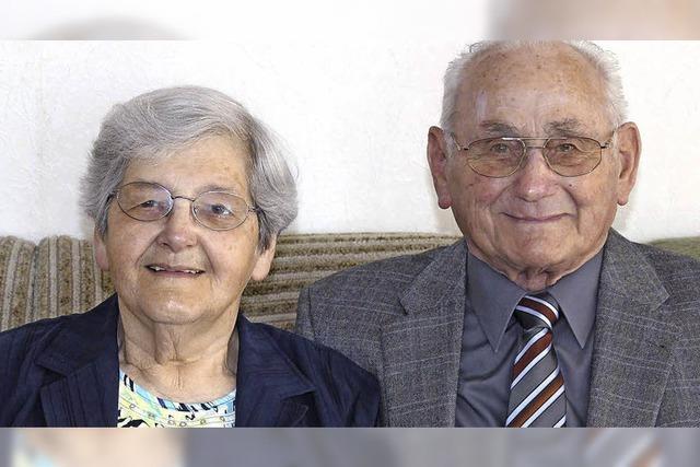 Brunhilde und Berthold Siefert 60 Jahre verheiratet