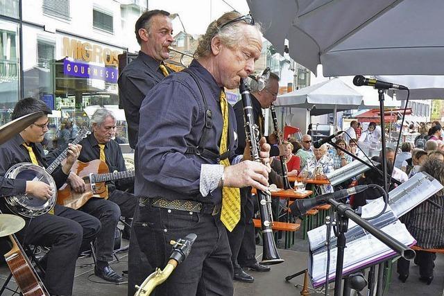 Lörrach swingt auf sieben Bühnen
